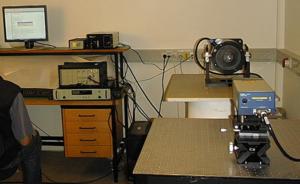 Система калибровки датчиков вибрации с использованием лазерного виброемтра